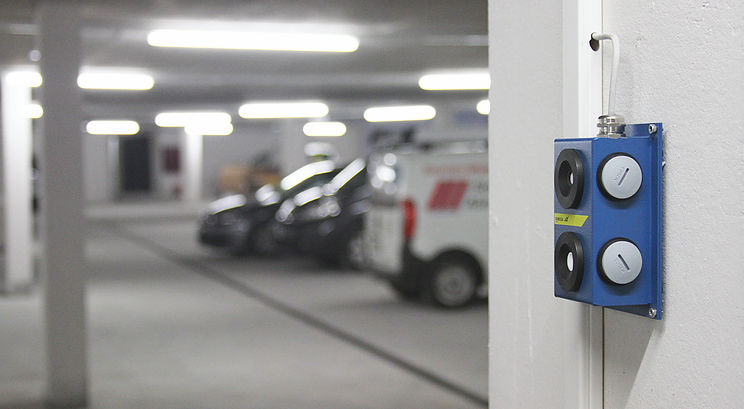 KIMESSA gas detection systems for underground car parks 345343