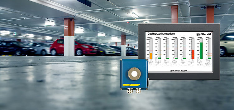 KIMESSA gas detection systems for underground car parks