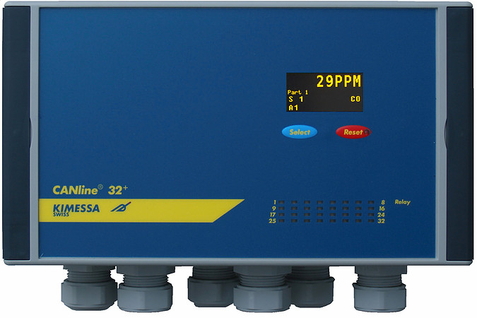 32-channel Gas monitor CANline 32+