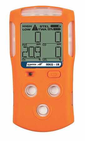 Portable Gas monitor Multi KIMESSA Clip MKC